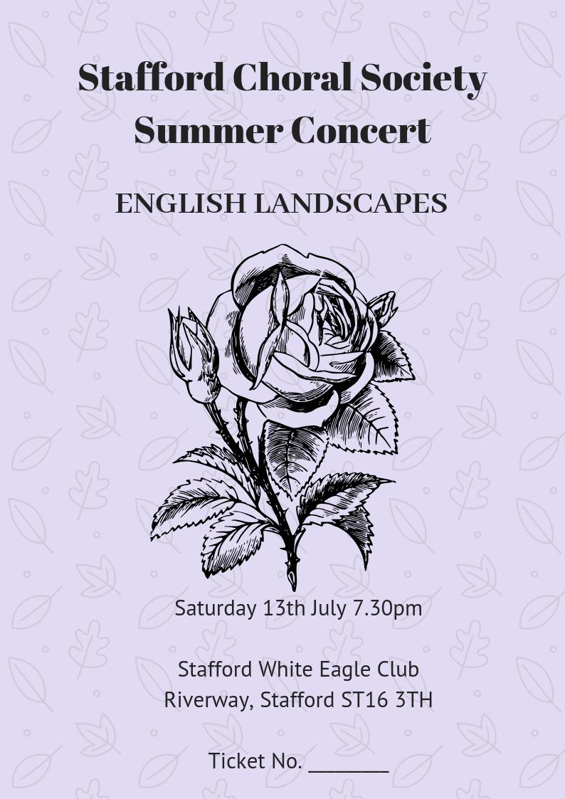 Summer concert rose final