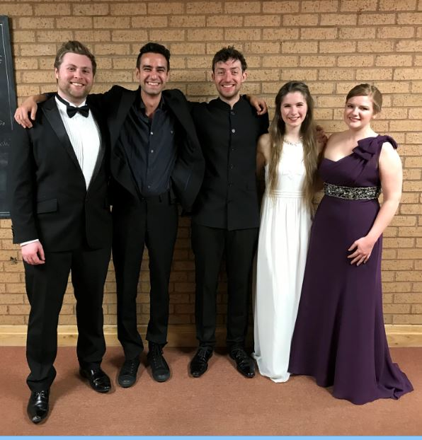 soloists and conductor May 2018