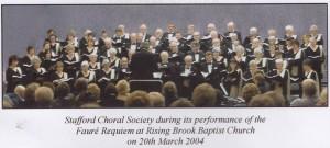 Faure Requiem 2004